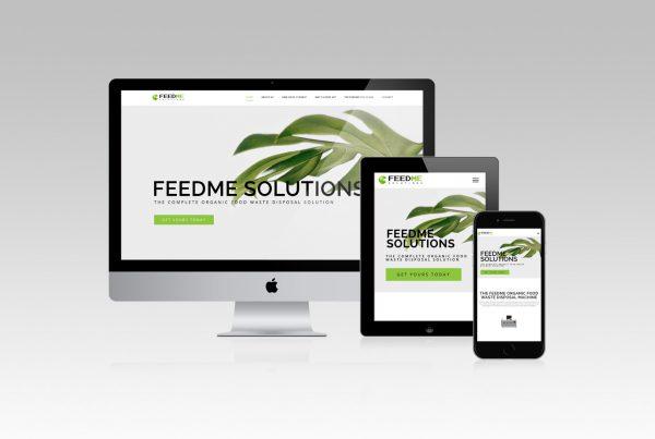 Feed Me Web Development Website