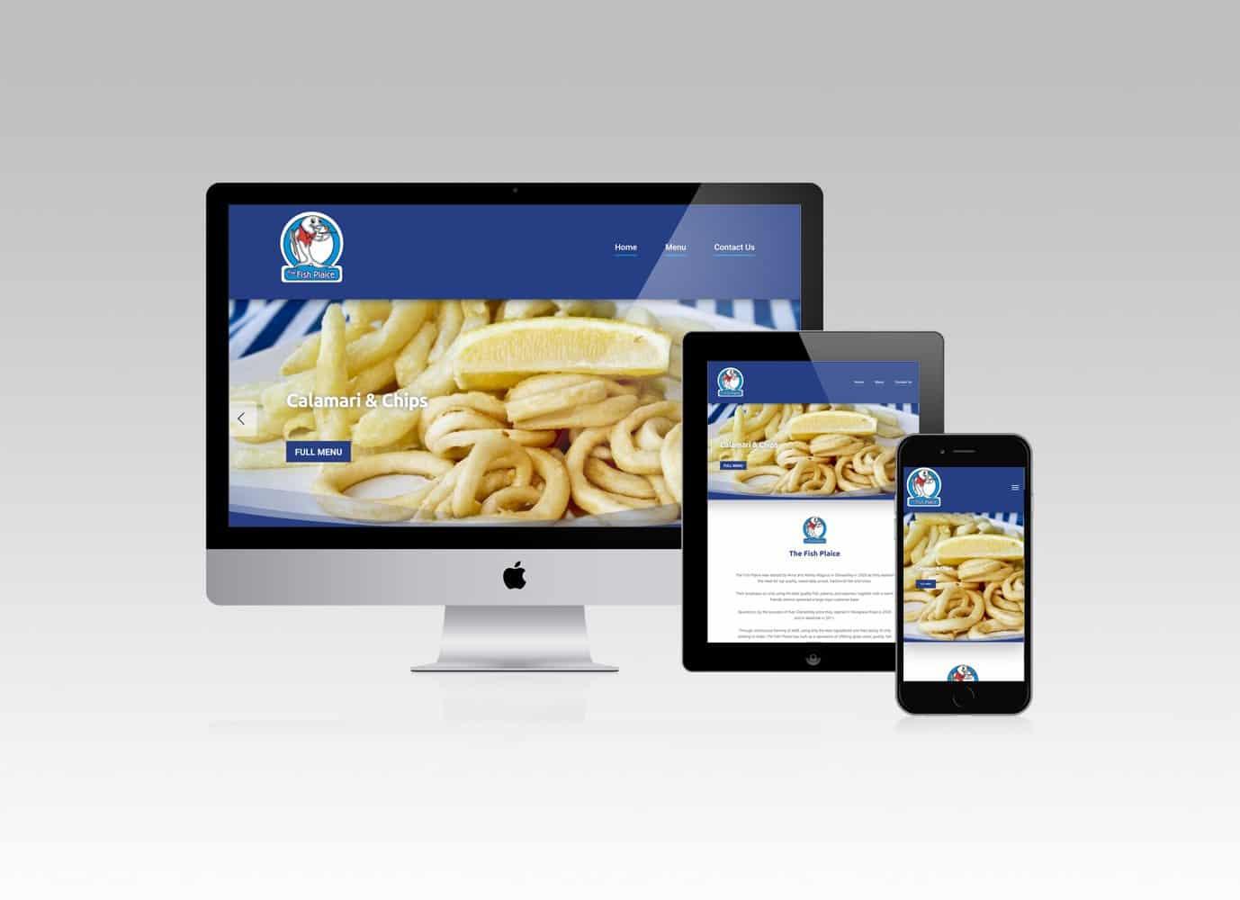 The Fish Plaice Website Design