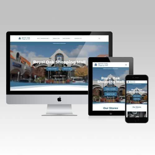 website royal oak shopping mall
